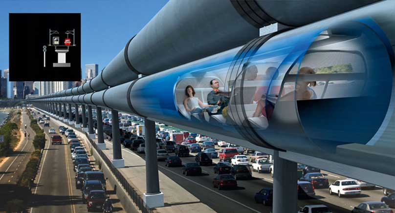 Hyperloop - 1220 км в час!