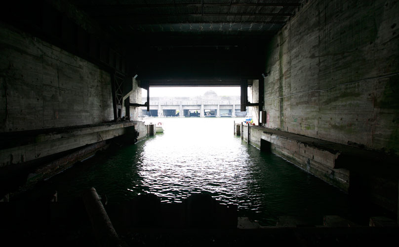 Submarine Base at Saint-Nazaire