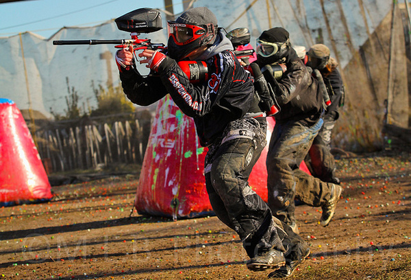 Woodsball is the easiest paintball to get involved with